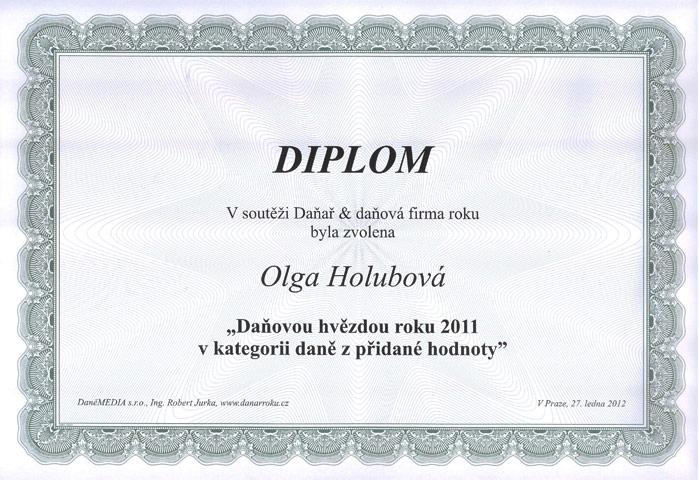 Daňová hvězda roku 2011 (DPH)