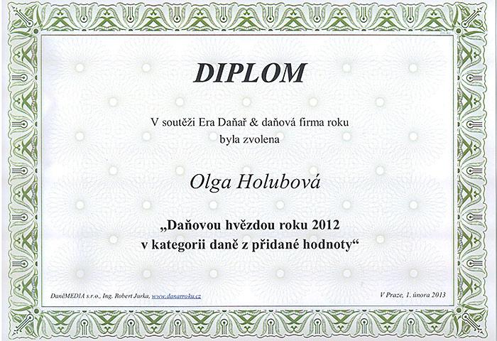 Daňová hvězda roku 2012 (DPH)